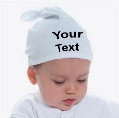 Personalised Baby Knotted Hat (LW91T)